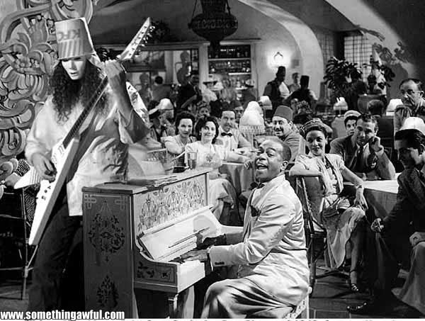 Image of Casablanca parody