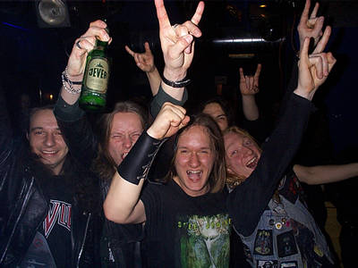 Image of headbangers